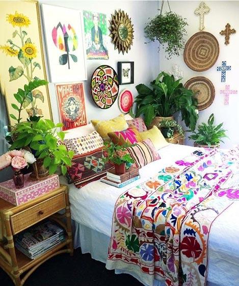卧室布艺床设计图片大全