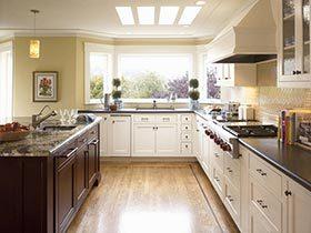 开阔视野  10款开放式厨房装修实景图