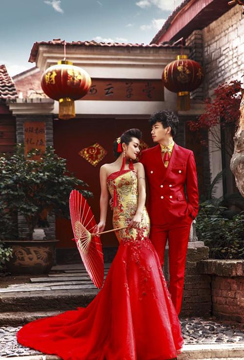 中国婚纱_中国传统婚纱