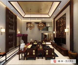 古典中式风格客厅装修效果图