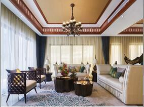 东南亚风格装修  让别墅更独特