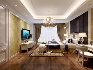 大户型欧式卧室装修效果图