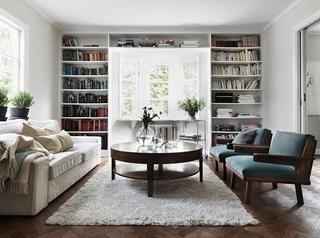 充满书香的公寓 艺术与不羁完美融合
