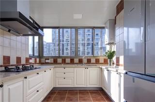146㎡美式风格厨房装修效果图