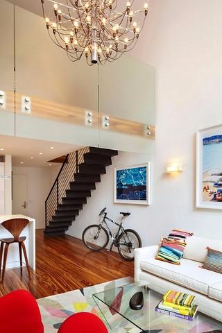 小户型复式公寓装修效果图