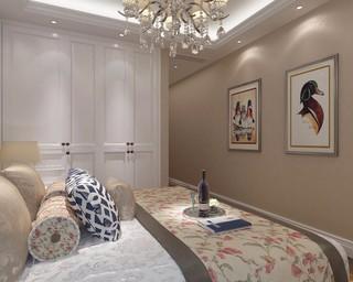 两居室简欧风格卧室装修效果图