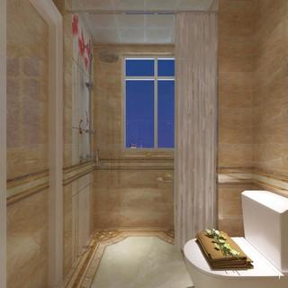 两居室简欧风格卫生间装修效果图