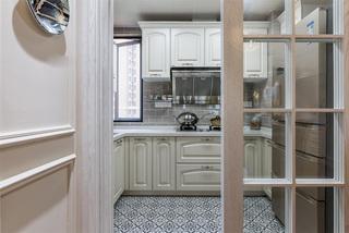 133㎡美式风格三居厨房装修效果图