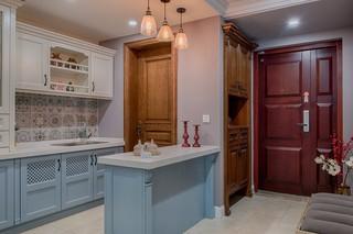 三居室混搭风格厨房装修效果图