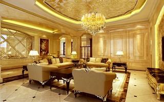 欧式别墅客厅装修注册送300元现金老虎机图