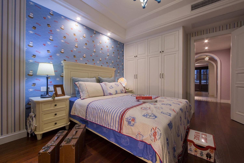 128㎡美式风格卧室每日首存送20