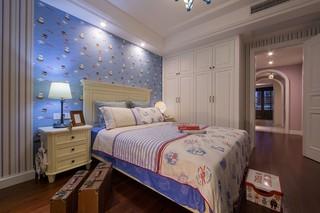 128㎡美式风格卧室装修效果图