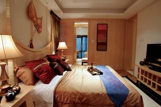 东南亚风格四居卧室每日首存送20