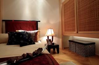 东南亚风格四居卧室装修布置图