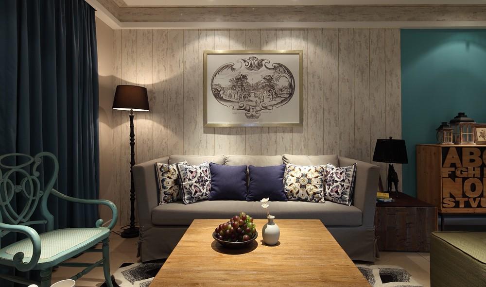 三居室混搭风格装修效果图