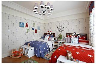 复式地中海风格儿童房装修效果图
