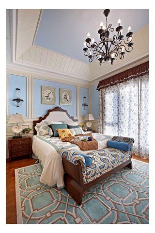 复式地中海风格卧室每日首存送20