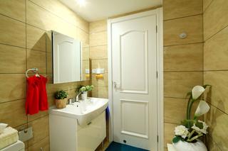 混搭风格三居室卫生间每日首存送20