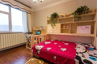 135㎡现代三居儿童房装修效果图