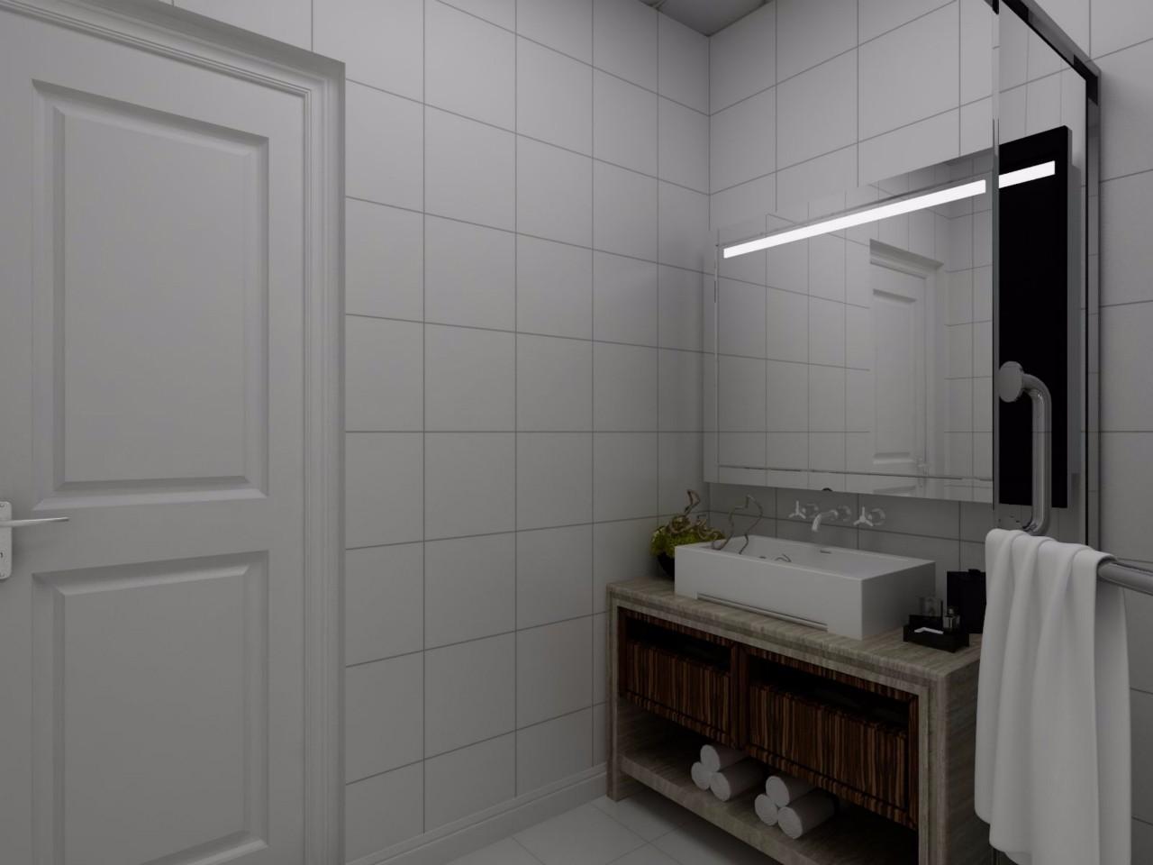 简约风格卫生间装修设计效果图