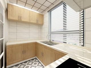 简约北欧风厨房装修设计效果图