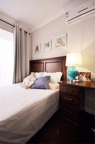 两居室美式风格卧室装修效果图
