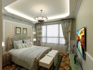 美式田园两居卧室装修效果图