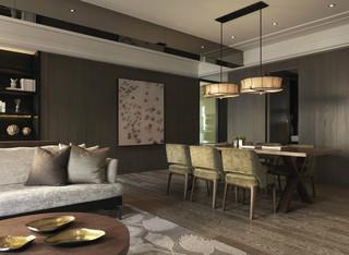 118平米现代风格餐厅装修效果图