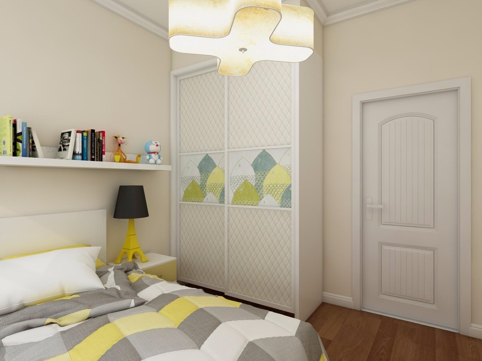 现代简约两居装修衣柜设计图
