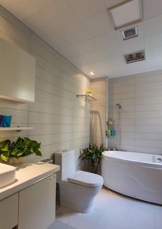 简约现代两居室卫生间装修效果图