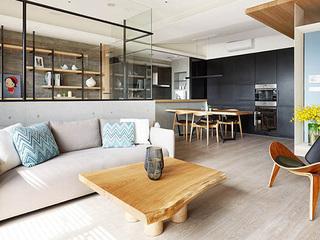 50平小户型房屋装修  一家四口的温馨时光
