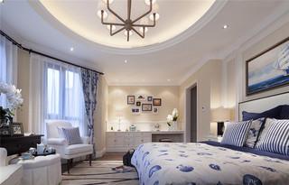 160㎡美式风格卧室装修效果图