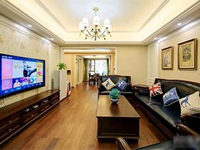 8万搞定120平两居室装修 中美混搭风