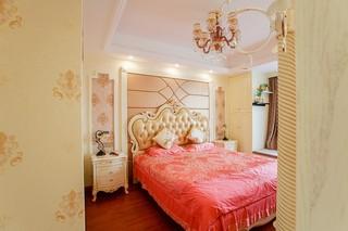 三居室欧式风格卧室装修效果图