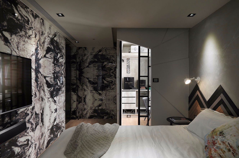132㎡现代风格卧室装修效果图