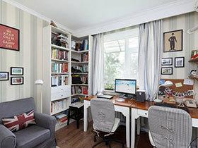 好自在的空间 10款书房装修实景图