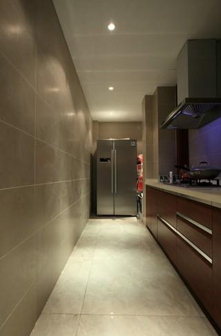 130㎡简约中式三居厨房装修效果图