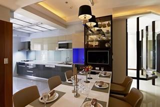 现代简约风格三居厨房装修设计图