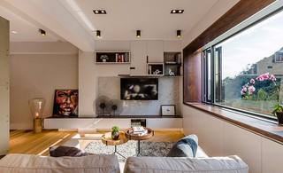 82㎡现代公寓装修效果图