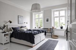 65㎡北欧风公寓卧室装修效果图