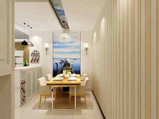 简约现代二居室餐厅装修效果图