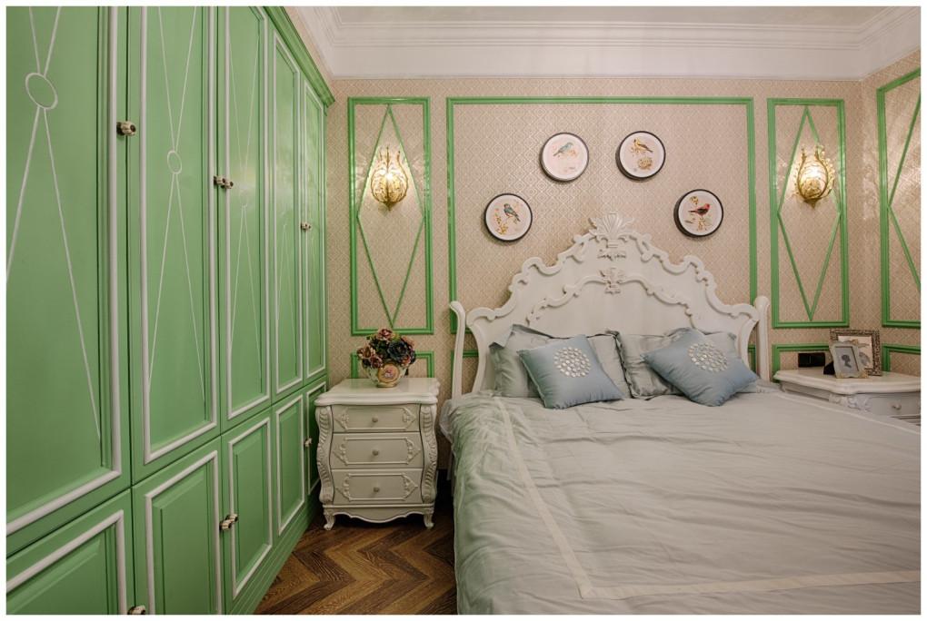 美式新古典风格卧室衣柜装修效果图