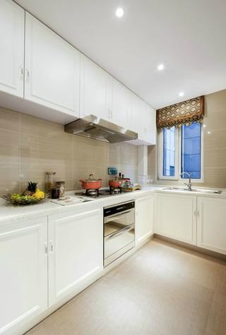 新古典风格四居室厨房装修设计图