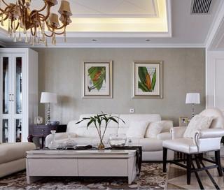 新古典美式风格四居装修效果图