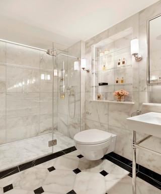 优雅英式公寓卫生间装修效果图