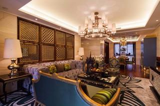 大户型东南亚风格客厅每日首存送20
