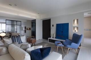 76平米现代风格客厅装修搭配图