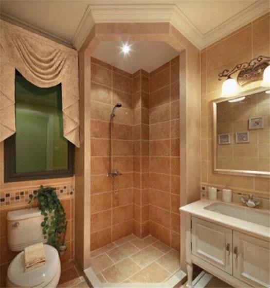 小户型厕所构造图