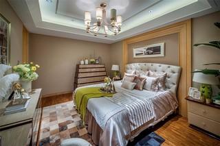 112平欧式风格卧室装修效果图