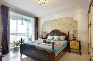 130㎡地中海风格卧室装修设计图